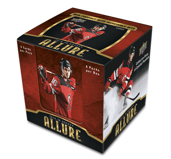 2019-20 Upper Deck Allure Hockey Inner Case (10 Boxes) - Collector's Avenue