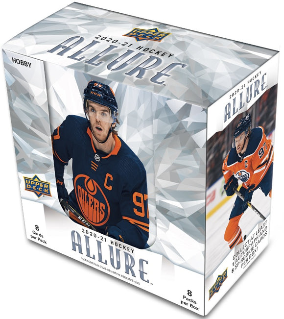 2020-21 Upper Deck Allure Hockey Hobby Inner Case (10 Boxes) - Collector's Avenue
