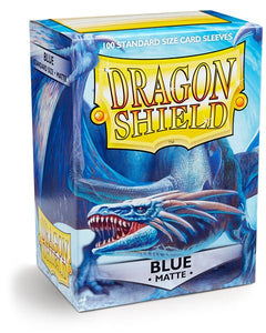 Dragon Shield Matte - standard size - 100 ct. Blue - Collector's Avenue