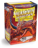 Dragon Shield Matte - standard size - 100 ct. Red - Collector's Avenue