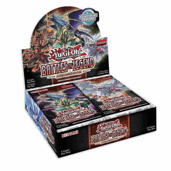 Yu-Gi-Oh! Battles of Legend: Armageddon Booster Box - Collector's Avenue
