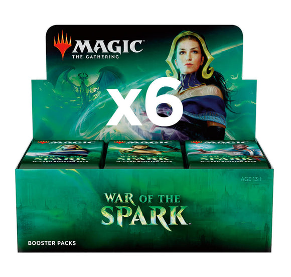 Mtg Magic The Gathering - War Of The Spark Booster Case (6 Booster Boxes) - Collector's Avenue