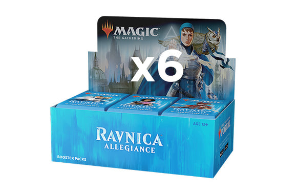 Mtg Magic The Gathering - Ravnica Allegiance Booster Case (6 boxes) - Collector's Avenue