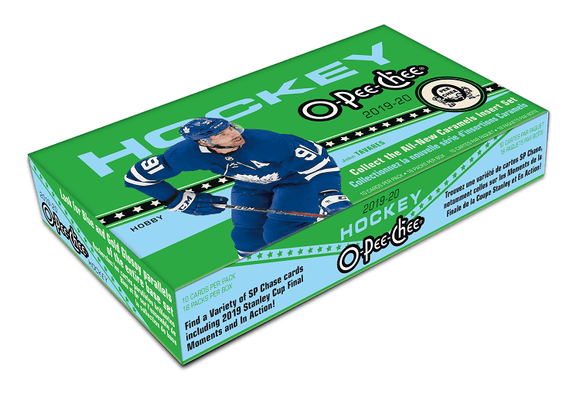 2019-20 Upper Deck O-Pee-Chee Hockey Hobby Case (16 boxes) - Collector's Avenue