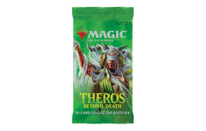 Mtg Magic The Gathering Theros Death Beyond Collector Booster Pack - Collector's Avenue