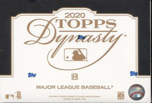 2020 Topps Dynasty Baseball Hobby Box - Collector's Avenue