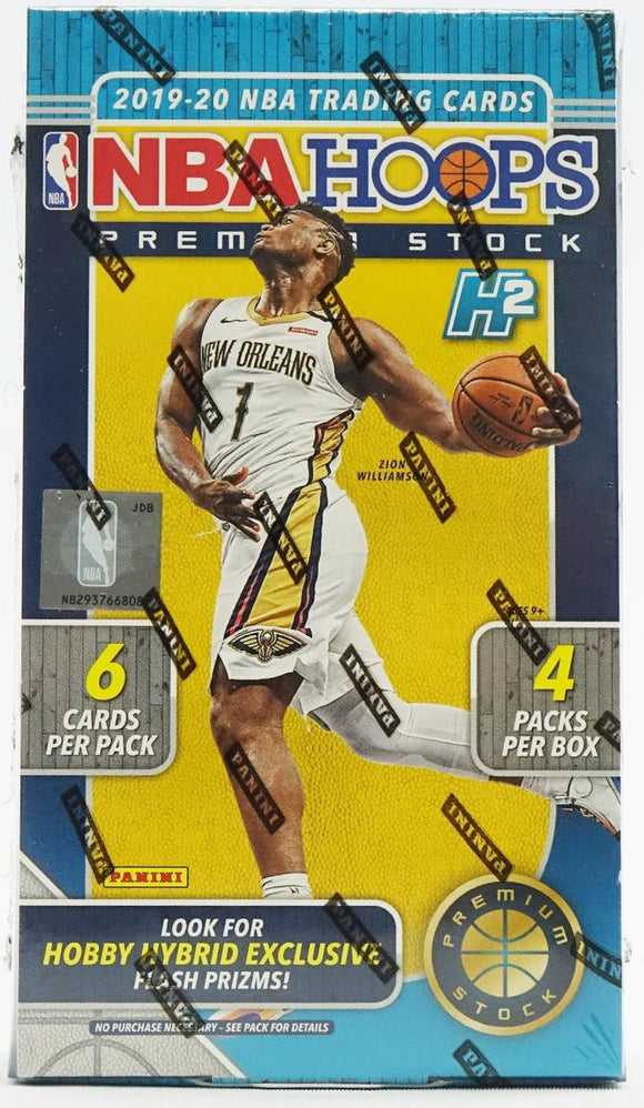2019-20 Panini Hoops Premium Stock Basketball Hobby Box - Collector's Avenue