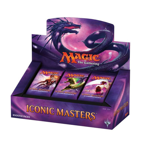 MTG Magic The Gathering - Iconic Masters Booster Box - Collector's Avenue