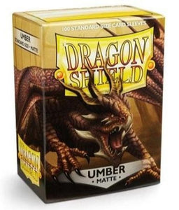 Dragon Shield Matte - standard size - 100 ct. Umber - Collector's Avenue