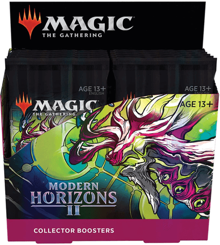 Mtg Magic The Gathering Modern Horizons 2 Collector Booster Box (ships Jun/18/21)