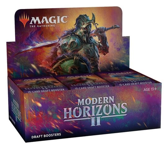 Mtg Magic The Gathering Modern Horizons 2 Draft Booster Box (ships Jun/18/21)