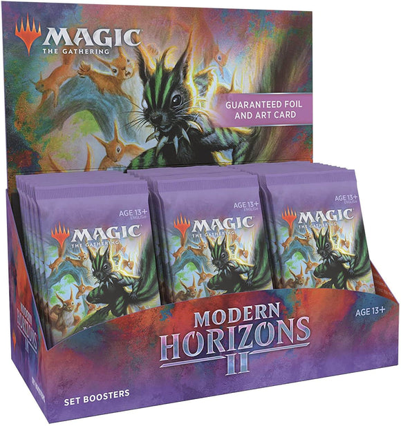 Mtg Magic The Gathering Modern Horizons 2 Set Booster Box (ships Jun/18/21)