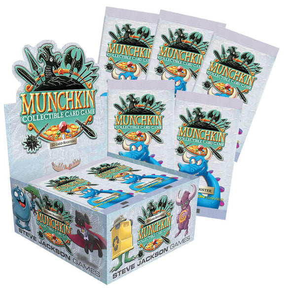 Munchkin Collectible Card Game Booster Box - Collector's Avenue