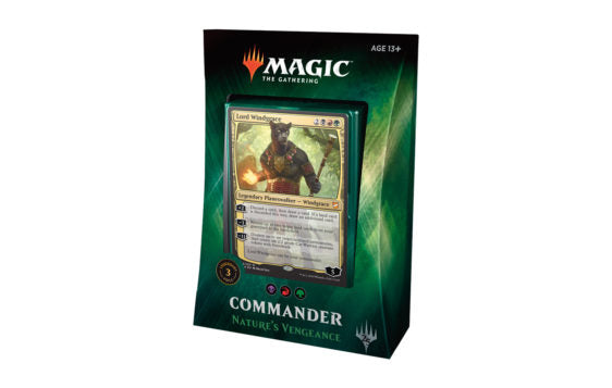 Mtg Magic The Gathering Commander 2018 Nature's Vengeance - Collector's Avenue