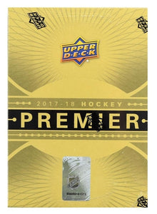 2017-18 Upper Deck Premier Hockey Hobby Box - Collector's Avenue