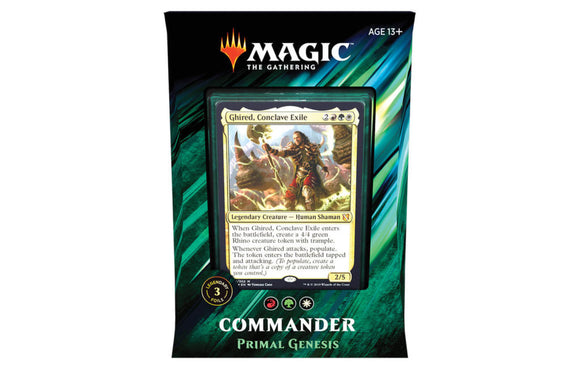 Mtg Magic The Gathering Commander 2019 Deck Primal Genesis - Collector's Avenue