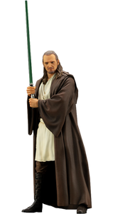 Star Wars (The Phantom Menace) ArtFX+ Figure Statue - Qui-Gon Jinn - Collector's Avenue
