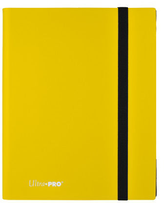 Ultra Pro 9-Pocket Eclipse PRO-Binder Lemon Yellow - Collector's Avenue