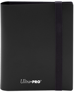 Ultra PRO 4-Pocket Eclipse Pro-Binder - Jet Black - Collector's Avenue