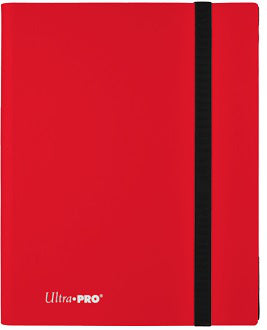 Ultra Pro 9-Pocket Eclipse PRO-Binder Apple Red - Collector's Avenue