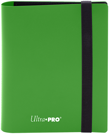Ultra PRO 4-Pocket Eclipse Pro-Binder - Lime Green - Collector's Avenue