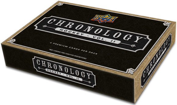 2019-20 Upper Deck Chronology Hockey Volume II Hobby Box - Collector's Avenue
