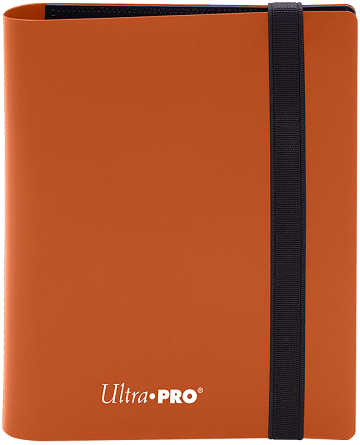 Ultra PRO 4-Pocket Eclipse Pro-Binder - Pumpkin Orange - Collector's Avenue