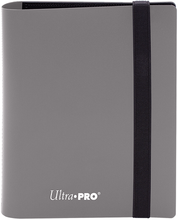 Ultra PRO 4-Pocket Eclipse Pro-Binder - Smokey Grey - Collector's Avenue