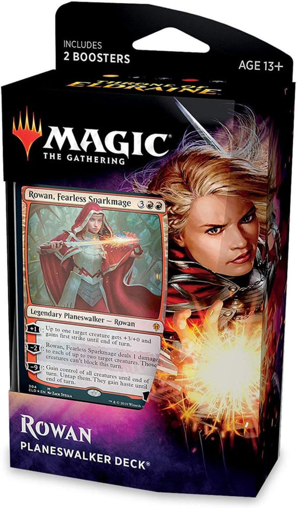 Mtg Magic The Gathering Throne of Eldraine Planeswalker Deck Rowan - Collector's Avenue
