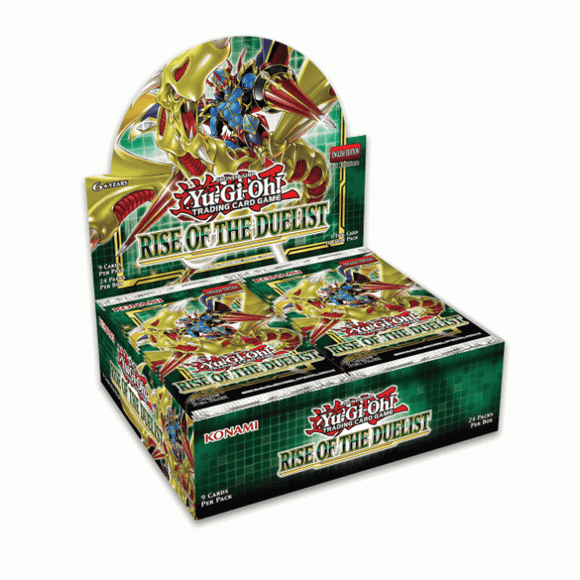 Yu-Gi-Oh! Rise of the Duelist Booster Box - Collector's Avenue
