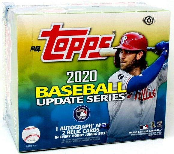 2020 Topps Update Series Baseball Jumbo Box - Collector's Avenue