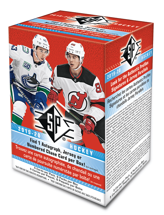 2019-20 Upper Deck SP Hockey Blaster Box - Collector's Avenue