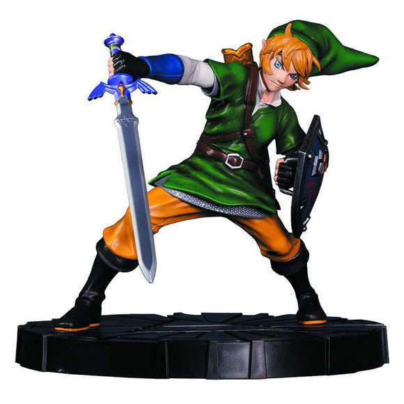 Legend of Zelda: Skyward Sword 8 Inch Statue Figure - Link - Collector's Avenue