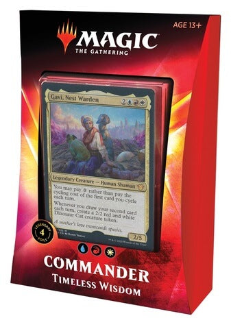 Mtg Magic The Gathering Ikoria: Lair of Behemoths Commander 2020 Timeless Wisdom - Collector's Avenue