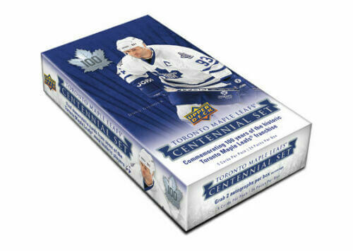 2017-18 Upper Deck Toronto Maple Leafs Centennial Hockey Hobby Box - Collector's Avenue