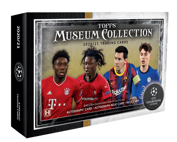 2020-21 Topps UEFA Champions League Museum Collection Soccer Box - Collector's Avenue