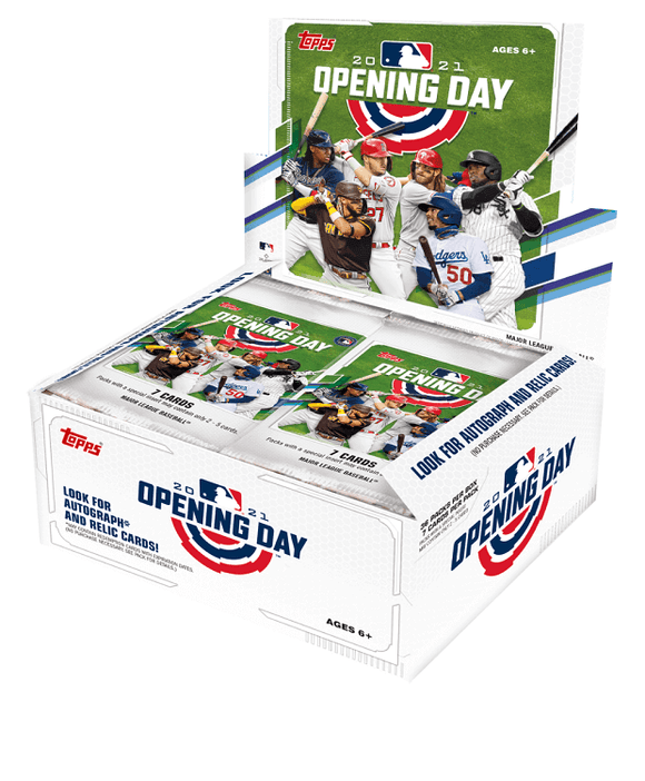 2021 Topps Opening Day Baseball Hobby Box - Collector's Avenue