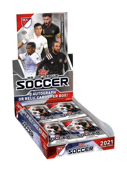 2021 Topps MLS Soccer Hobby Box - Collector's Avenue