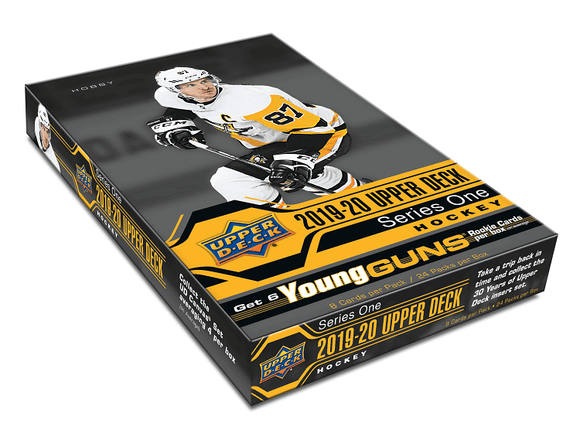 2019-20 Upper Deck Series 1 Hockey Hobby Case (12 boxes) - Collector's Avenue