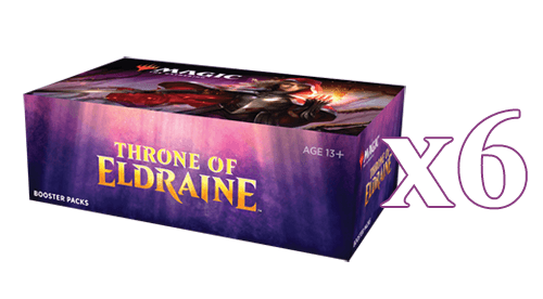 Mtg Magic The Gathering - Throne Of Eldraine Booster Case (6 Booster Boxes) - Collector's Avenue