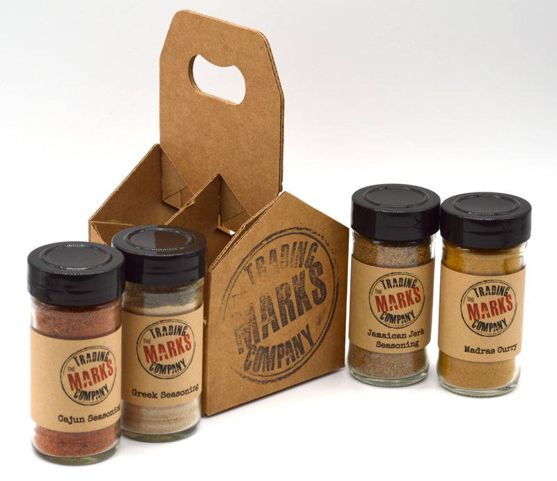 Around the World 4 Pack Jar Set