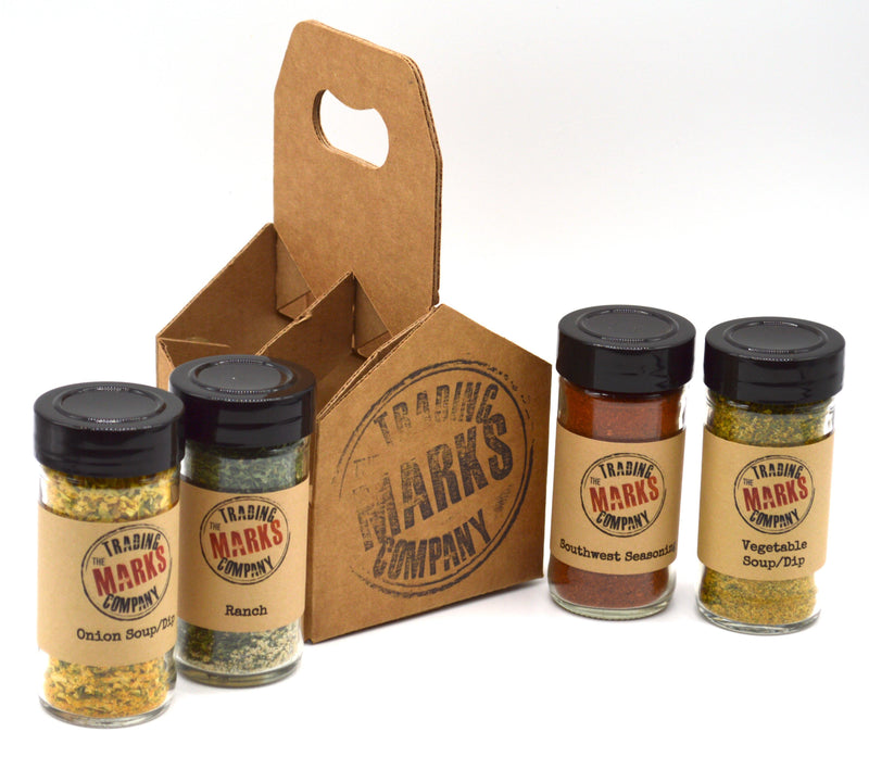 Dips 4 pack Jar Set