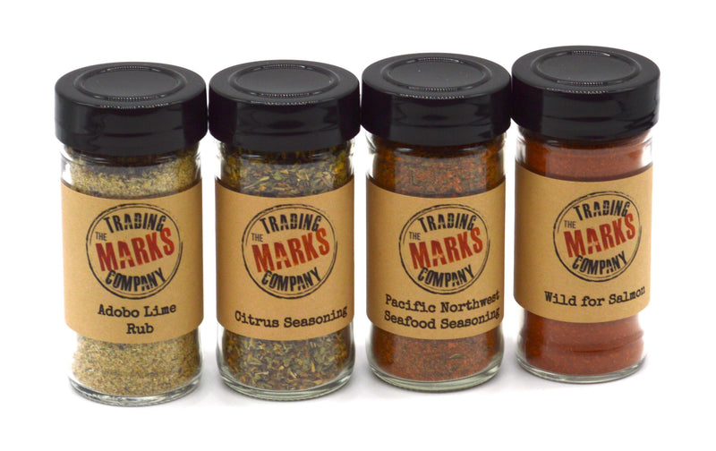 Taste of the Seas 4 Pack Jar Set