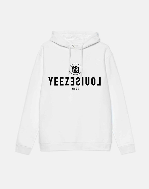 YEEZLOUISE MODE HOODED WHITE
