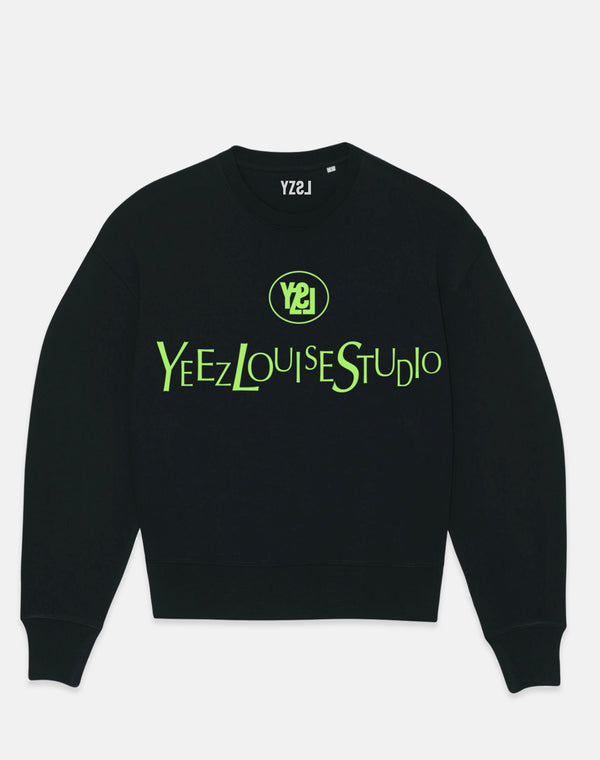 YLS NEON BLACK SWEATSHIRT