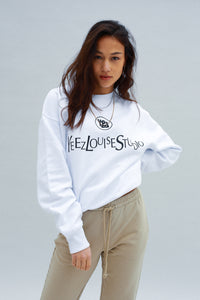 YLS WHITE SWEATSHIRT