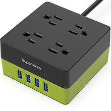 Load image into Gallery viewer, SDC018-2-power strip green square
