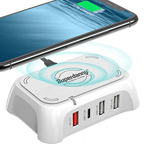 USB C Charger Wireless Charging Pad