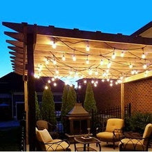 Load image into Gallery viewer, 52FT Shatterproof LED Outdoor String Lights 30pcs Plastic Bulb