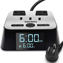 Load image into Gallery viewer, Alarm Clock Charger Power Strip